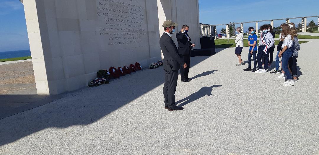 Visite du Mémorial britannique